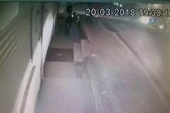 Pompalı tüfek dehşeti kamerada