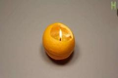 Portakaldan lamba nasıl yapılır?