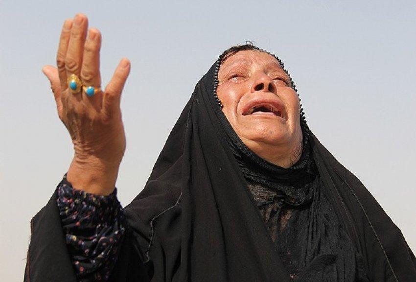 """Irak'ta """"ölümden kaçış"""" sürüyor"""
