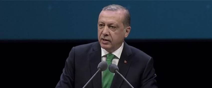 """Erdoğan: """"Eski Türkiye artıklarının oyunlarıyla da uğraşıyoruz"""""""