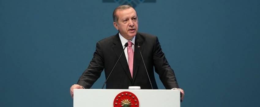 """Erdoğan: """"Çağımızın en büyük sorunu..."""""""