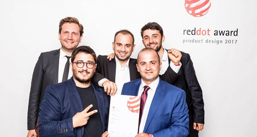 Üç kardeşin tasarladığı yerli üretim 'gimbal'a RedDot ödülü
