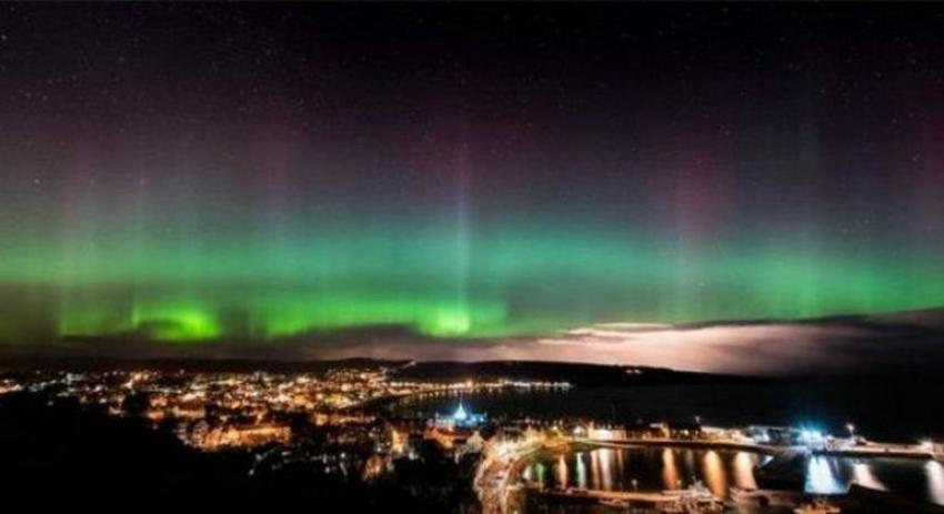 'Kuzey Işıkları' renkli görüntüler oluşturdu
