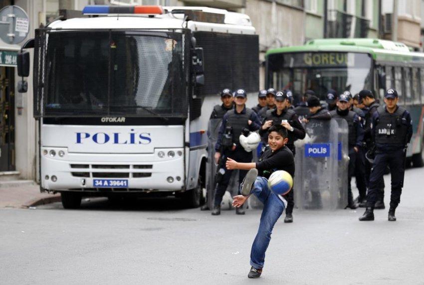 Reuters bu fotoğrafları yayınladı!