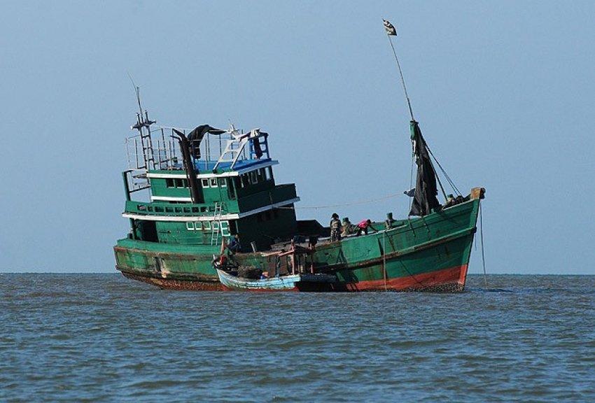 Andaman Denizi'nde göçmen taşıyan tekne bulundu