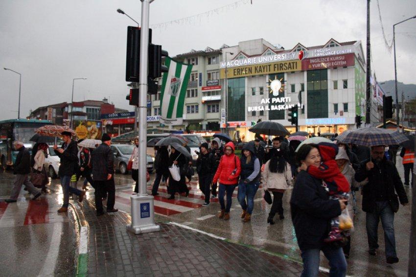 Bursalılar dikkat! Yağış geliyor...