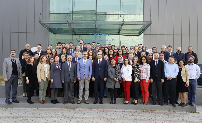 Bursa KHB'de Prof. Dr. Aşkın'a anlamlı veda