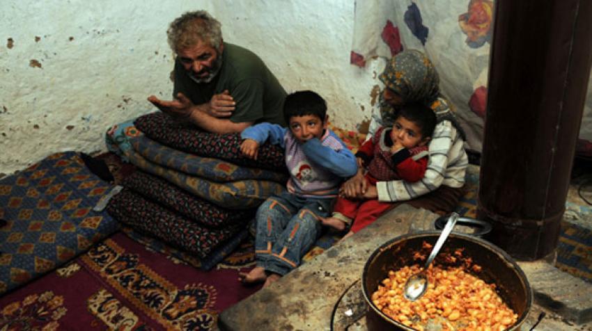 Yoksulluk yüzde 2'ye geriledi