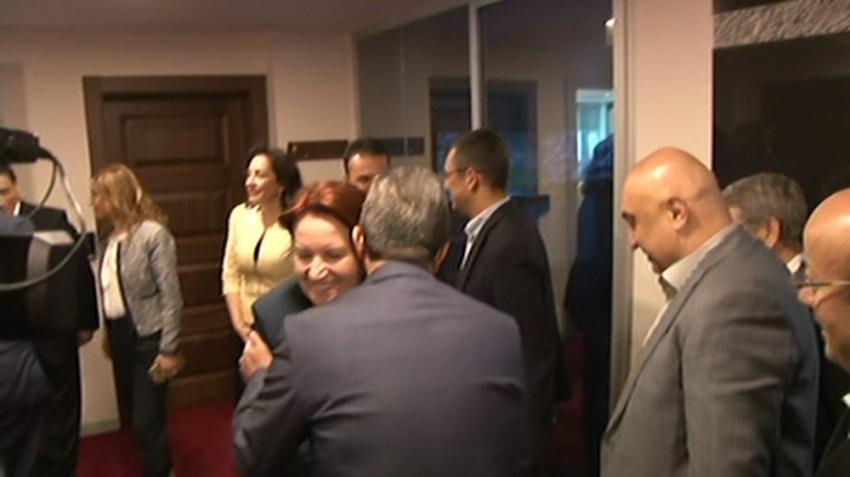 CHP-İYİ Parti görüşmesi başladı
