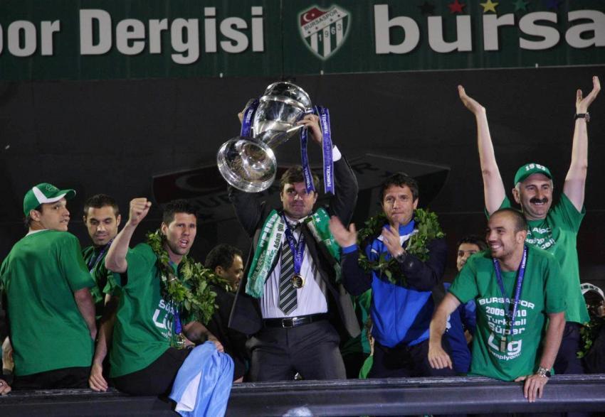 """Bursaspor'un başında """"O"""" vardı"""
