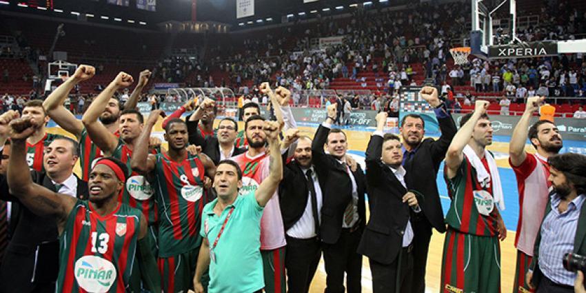 Pınar Karşıyaka TBL şampiyonu!