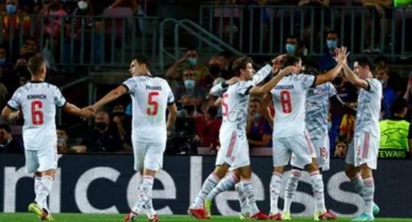 Şampiyonlar Ligi Barcelona:0-3 Bayern Münih