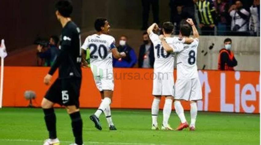 Eintracht Frankfurt :1-1 Fenerbahçe