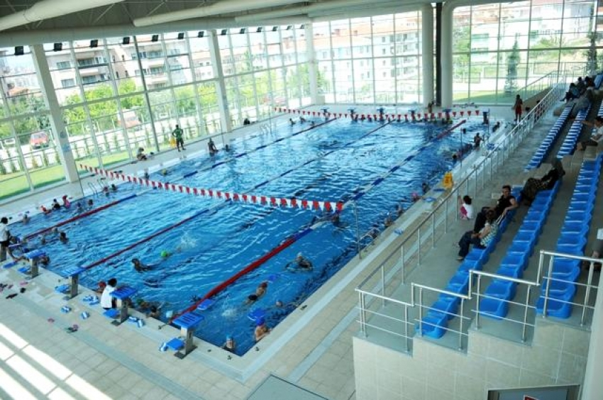 Nilüfer'de olimpik tesis tadilata girdi