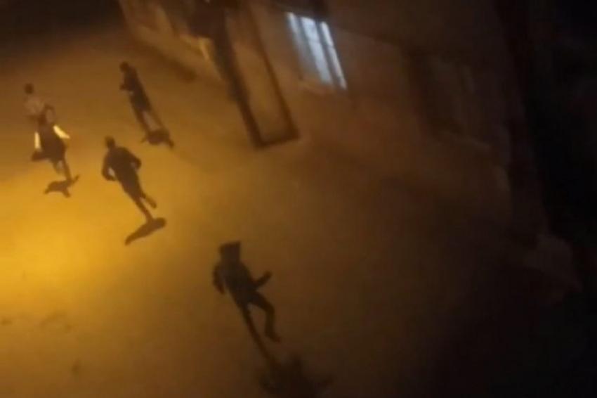Bursalı gençler polisten böyle kaçtı
