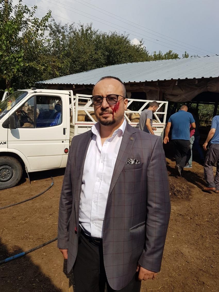 Bursa'da haciz işlemi sırasında avukatın yanağını ısırmıştı!
