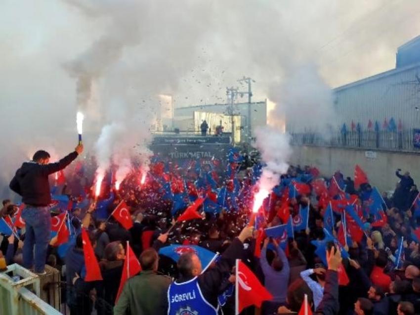 Bursa'da işten çıkarılan işçiler için...