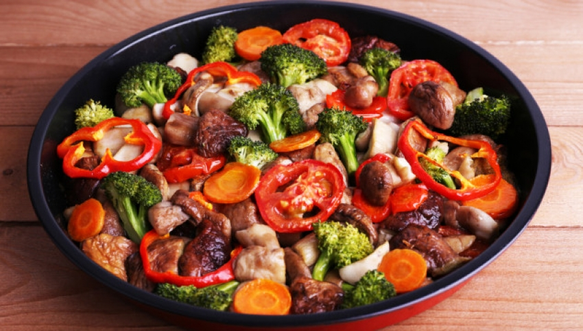 Eti sebze ile tüketin