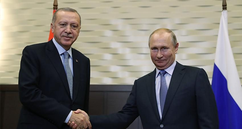 Cumhurbaşkanı Erdoğan ve Putin, Soçi'de konuşuyor