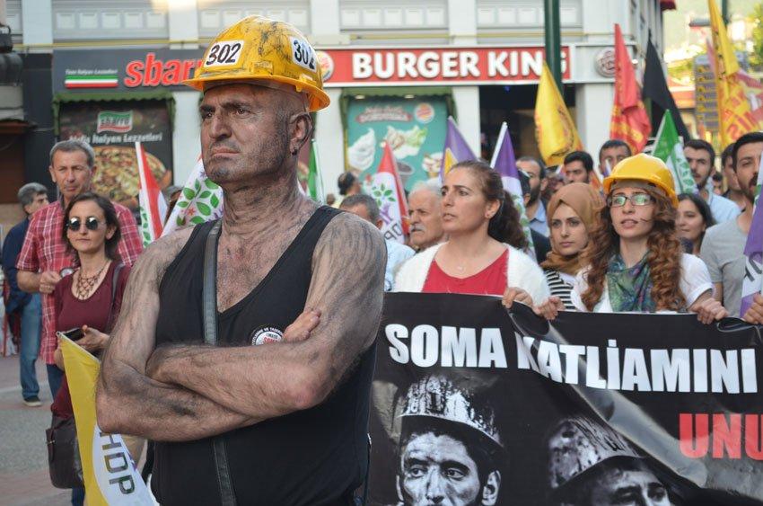 Bursa Soma'yı unutmadı