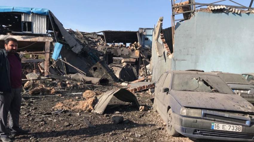 Bursa'daki fabrika patlamasında yeni gelişme!
