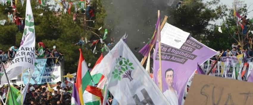 HDP mitingindeki patlamalarla ilgili 1 kişi tutuklandı