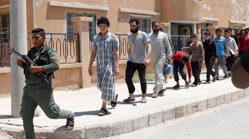 IŞİD'lileri serbest bıraktılar!
