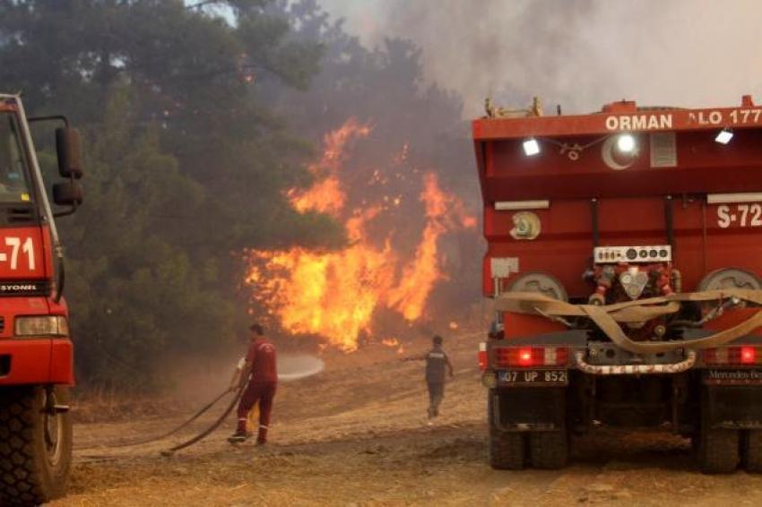 2 yangın işçisi yaşamını yitirdi