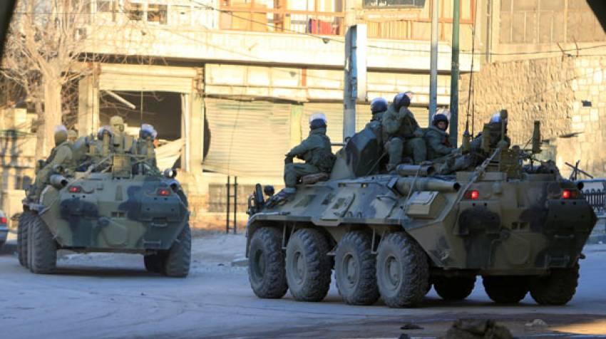 Suriye'de dört Rus askeri öldü
