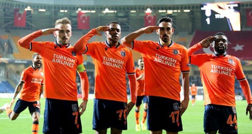 UEFA'dan asker selamına kınama cezası