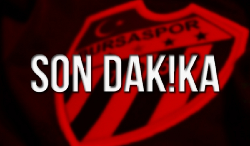 Bursaspor'un Erzurumspor kadrosu belli oldu!