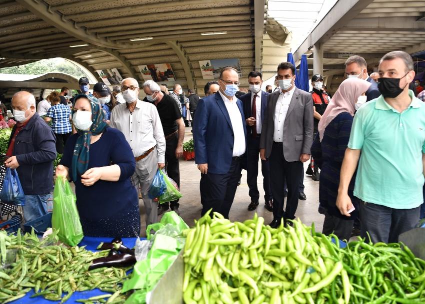Osmangazi'de pazar denetimleri