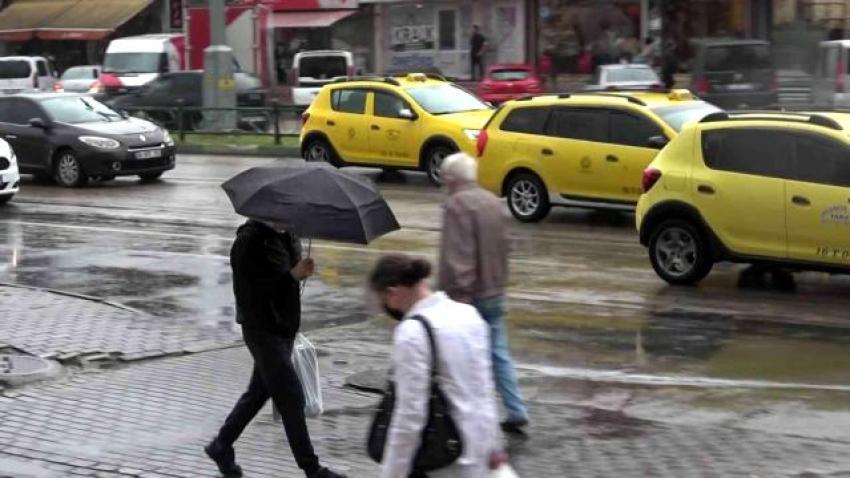 Bursa'da şiddetli yağmur!