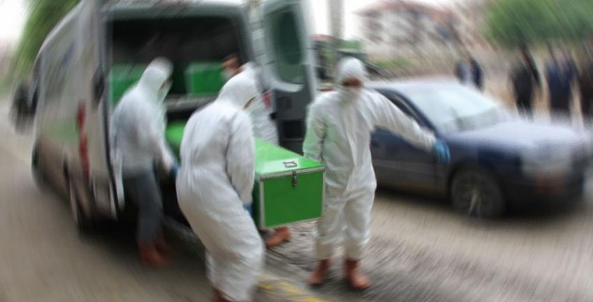 Cenazeler gasilhanede karıştı