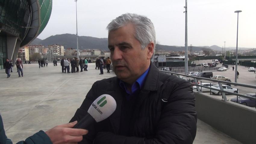 "Süha Sidal ""Bursaspor bu borçtan kurtulmalı!"""