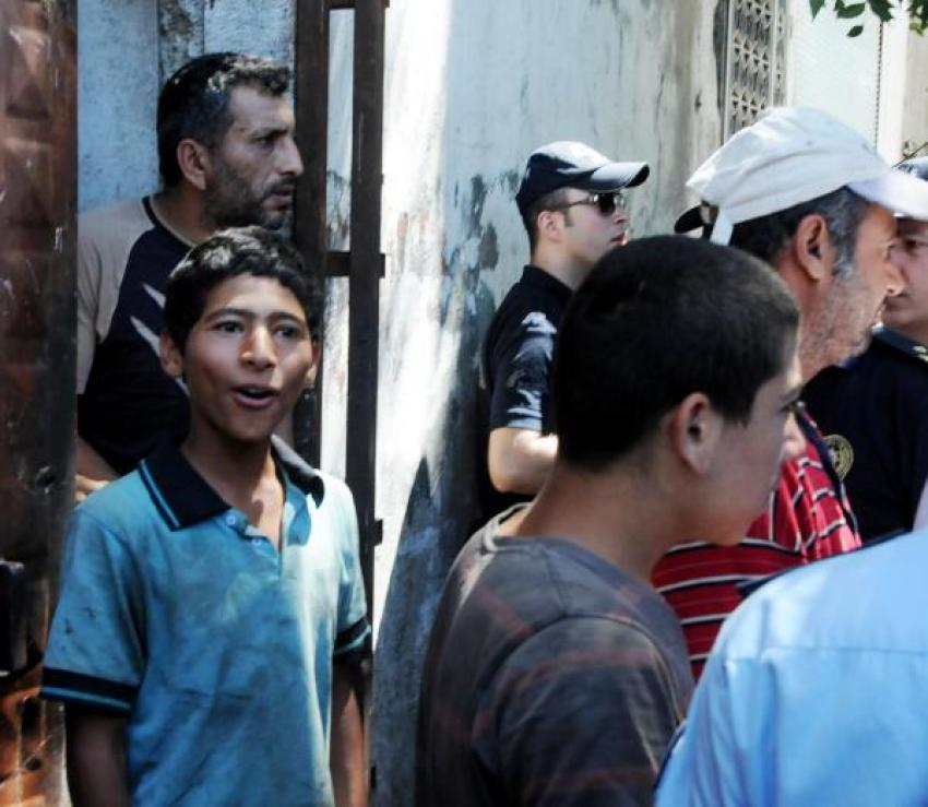 Gaziantep'te Suriyelilere operasyon