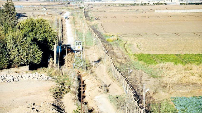 Sınıra 911 kilometrelik duvar