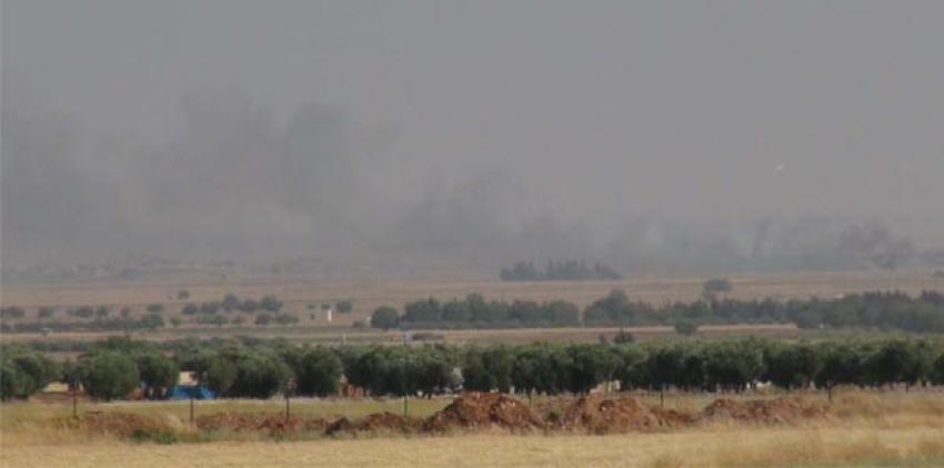 IŞİD sınıra hendek kazıyor