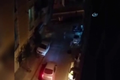 Suriyelilerin kavgası mahalleyi savaş alanına çevirdi