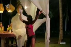 Survivor Sabriye'nin muhteşem dans etmesi
