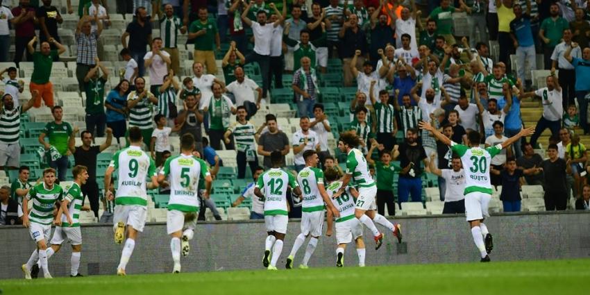 Bursaspor'dan hedef duyurusu