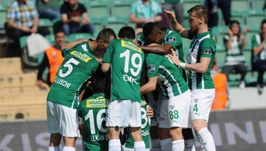 Bursaspor tarihi rekor kırdı