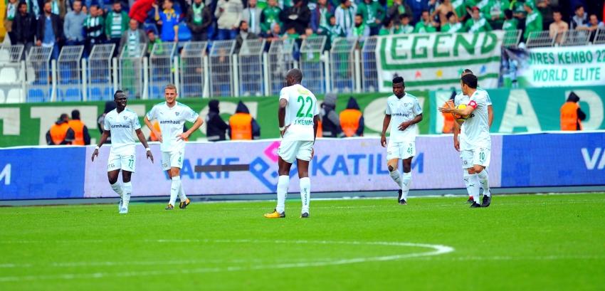 Bursaspor 0-3 Başakşehir