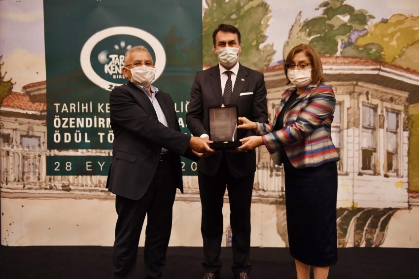Tarihi Kentler Birliği'nden Osmangazi'ye Anlamlı Ödül