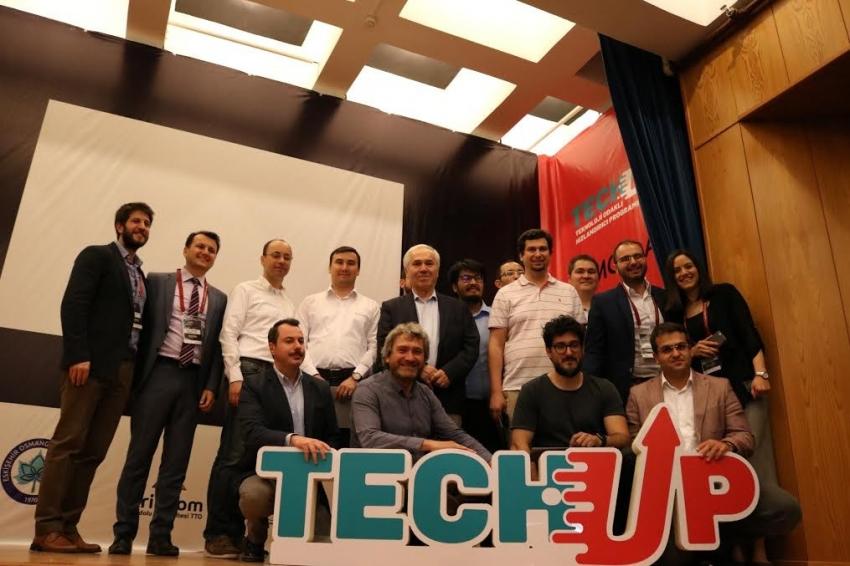 Yatırımcı ve Girişimciler TechUp Demo Day'de buluştu
