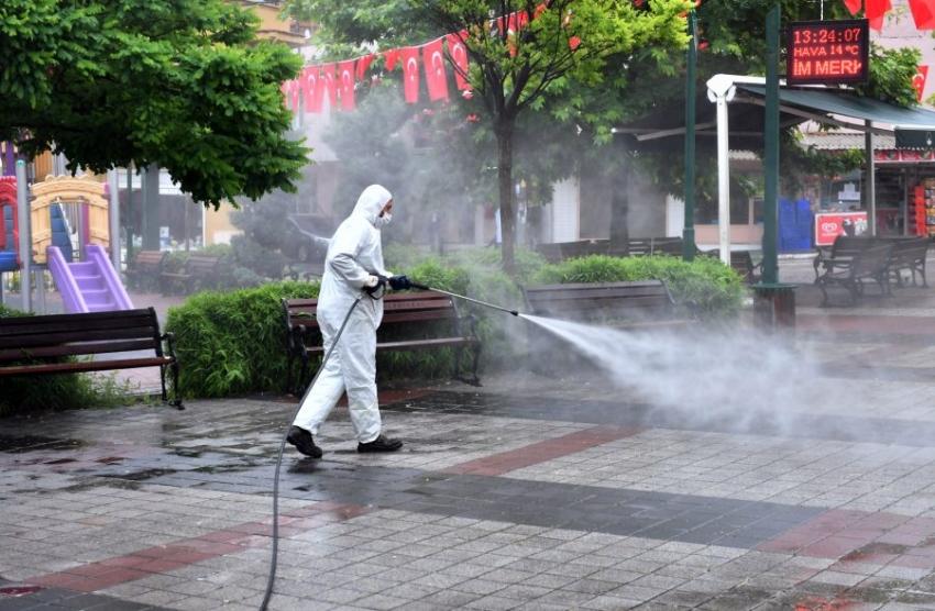 Osmangazi'de bir haftada 22 bin 392 nokta temizlendi