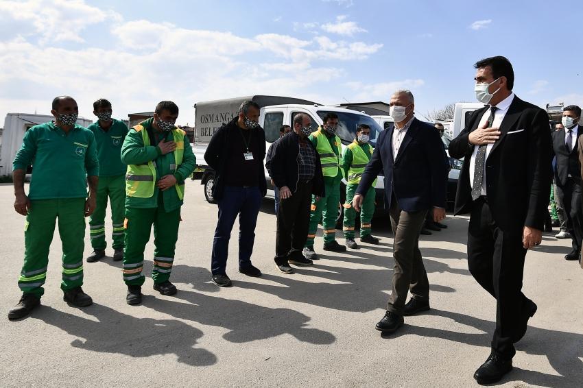Osmangazi Belediyesi'nden kent temizliğine büyük yatırım