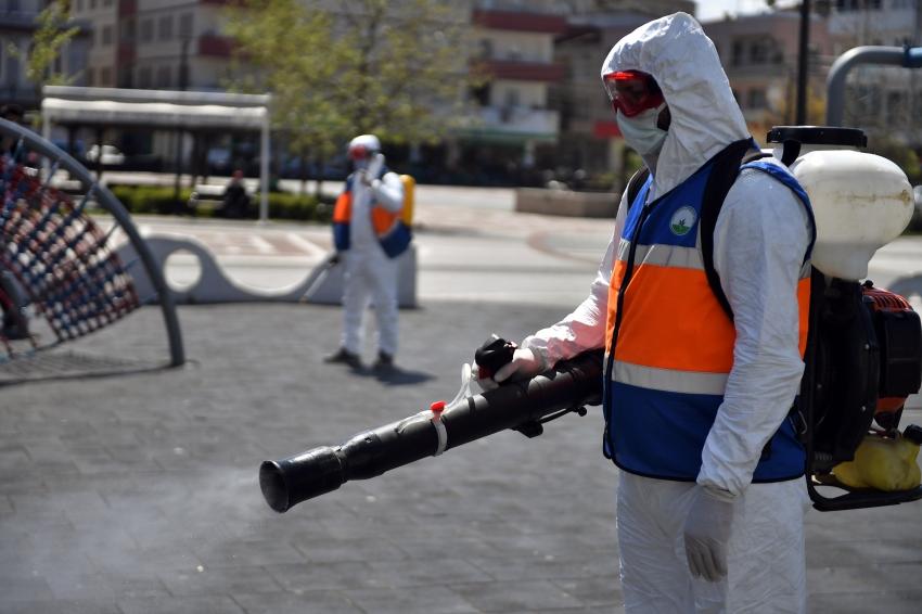 Osmangazi'de virüsle mücadele