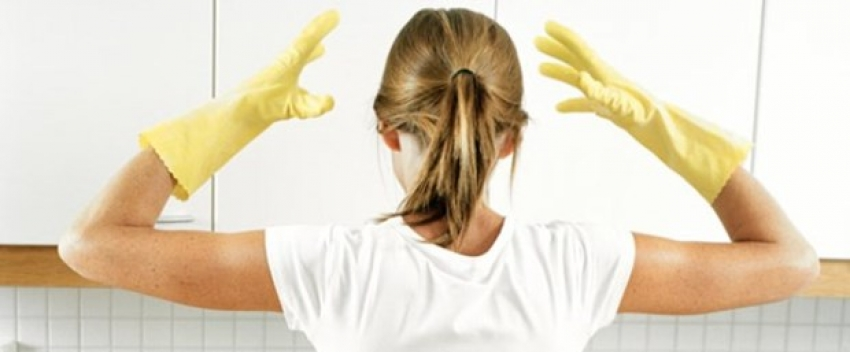 Temizlikte zehirlenme riski (Türk kadını literatüre girdi)