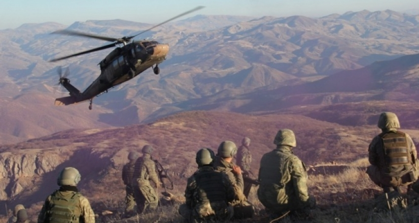 PKK'nın Tendürek Dağı kuzeyi sözde Diyadin bölge sorumlusu öldürüldü